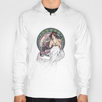 mucha Hoodies featuring Alfons Mucha Music by Puddingshades