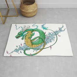 Dragon Tattoo Art Rug