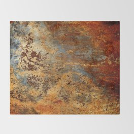 Beautiful Rust Throw Blanket