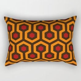 Carpet Pattern by Hicks Artwork for Wall Art, Prints, Posters, Tshirts, Men, Women, Kids Rectangular Pillow