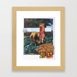 Kuh, Koller, Collage 2 Framed Art Print