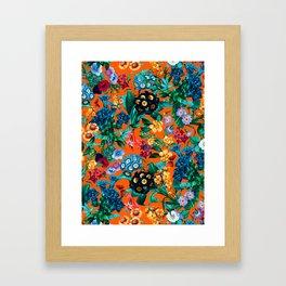 Romantic Garden VII Framed Art Print