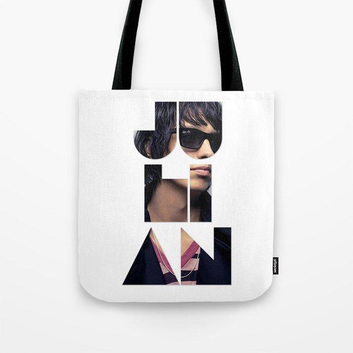 Julian Casablancas The Strokes Font Sunglasses Tote Bag