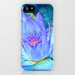 Lotus Heart iPhone Case