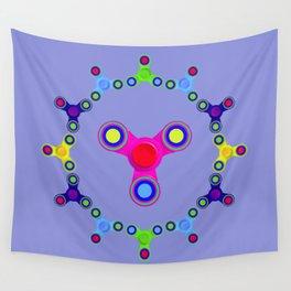 Fidget Spinner Design version 1 Wall Tapestry
