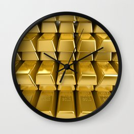 "Gold Pulling Image...""The Secret"" If you see again and again, you can get it. Wall Clock"