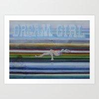 Dream Girl Art Print