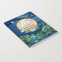 Dream me the world Notebook