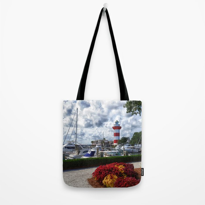 Hilton Head Lighthouse Tote Bag