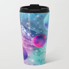 Vaporwave Pastel Space Mood Metal Travel Mug