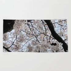 Sakura Blooming (Japan) Beach Towel
