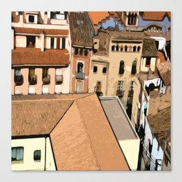 Spain Landscape Canvas Print