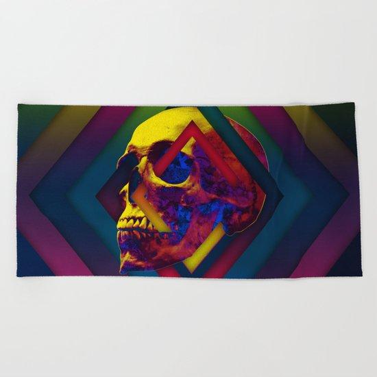 Lifeful Skull V2 Beach Towel