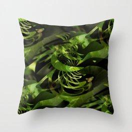 Magical plants Throw Pillow