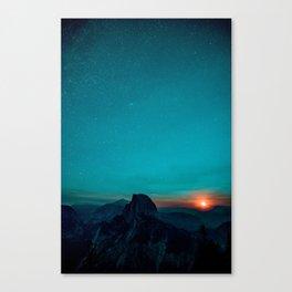 The Sunrises (Color) Canvas Print