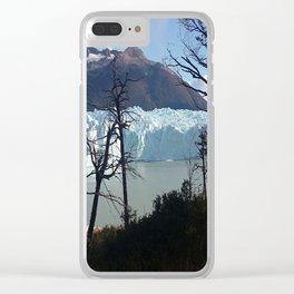 Perito Moreno Clear iPhone Case
