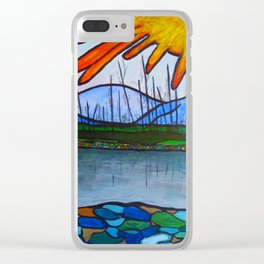 Kettle Valley Watershed Clear iPhone Case