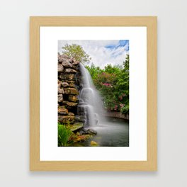 Zoo Waterfall Framed Art Print