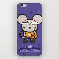 matty healy iPhone & iPod Skins featuring Matty the Sporty Mouse by Squid&Pig
