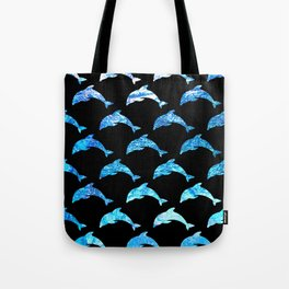 Dolphin Shimmer Tote Bag