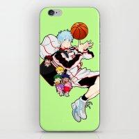 kuroko iPhone & iPod Skins featuring Kuroko  by Alyssa Tye