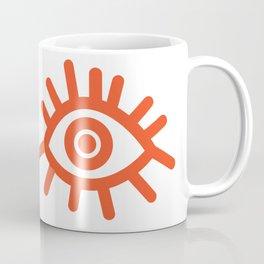 Not Yet Bunny // Orange Coffee Mug