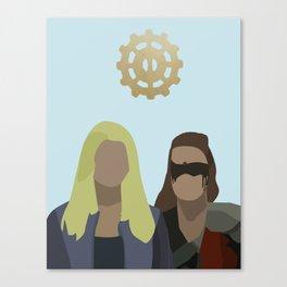 Clexa Canvas Print