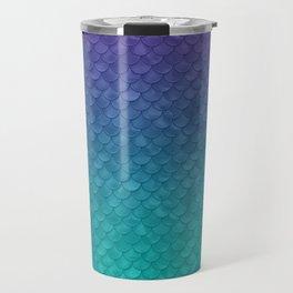 Ariel Mermaid Inspired Purple & Green Travel Mug