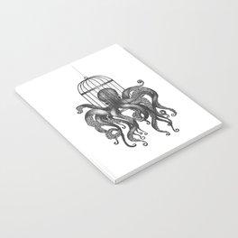 Octopus in a birdcage Notebook