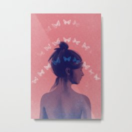 Dreaming of Butterfly Metal Print
