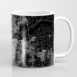 Kansas City map Coffee Mug