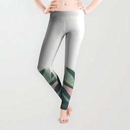 Pink Leaves II Leggings