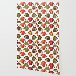 Trendy Nordic Christmas Jumper Wallpaper