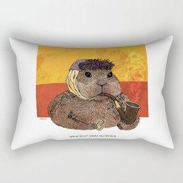Vincent van Gopher Rectangular Pillow