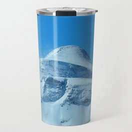 The imposing peak of Gjaidstein, Austria Travel Mug
