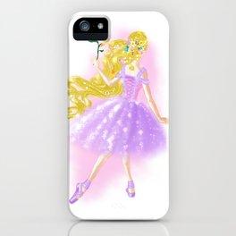 Golden Flower iPhone Case
