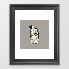 THE PENGUIN Framed Art Print