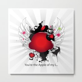 You're the Apple of my i.... Metal Print
