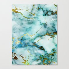 Marble Effect #1 Canvas Print