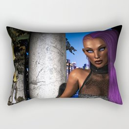 Snake Eyes Rectangular Pillow