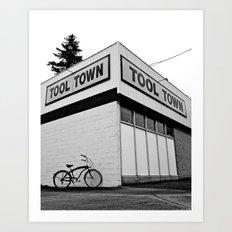 Tool Town Art Print