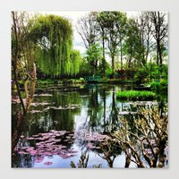 monet Canvas Prints featuring Monet  by Fernando Innecchi