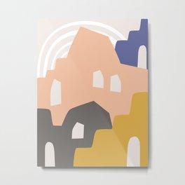 Tuscany - Abstract Minimalist Metal Print