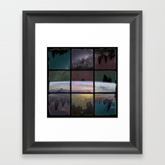 View into Space Framed Art Print