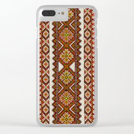 Ukrainian embroidery Clear iPhone Case