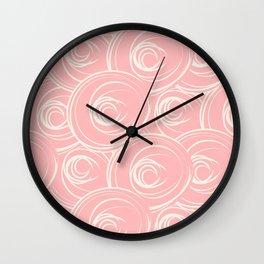 Art Deco Pastels Wall Clock