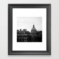 FRENCH REPUBLIC'S PANTHEON. Framed Art Print