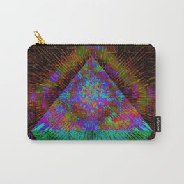 Green Pyramid Landing Carry-All Pouch