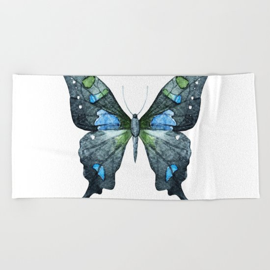 Butterfly 02 Beach Towel