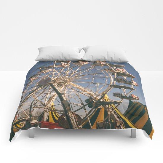 Wheel Ferris Comforters